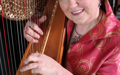 Elinor Bennett – harp and triple harp