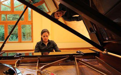 Samantha Ward – piano, Fenella Humphreys – violin  and Brian O'Kane – cello